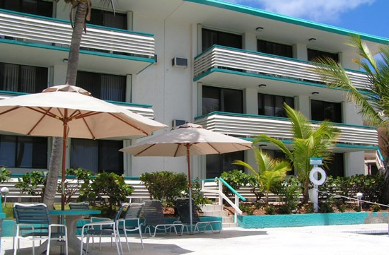Our oceanfront/poolfront condo building